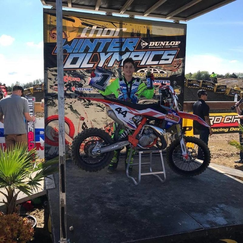 how to become a pro motocross racer