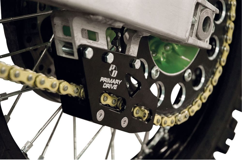 The primary drive chain guide will last virtually forever!