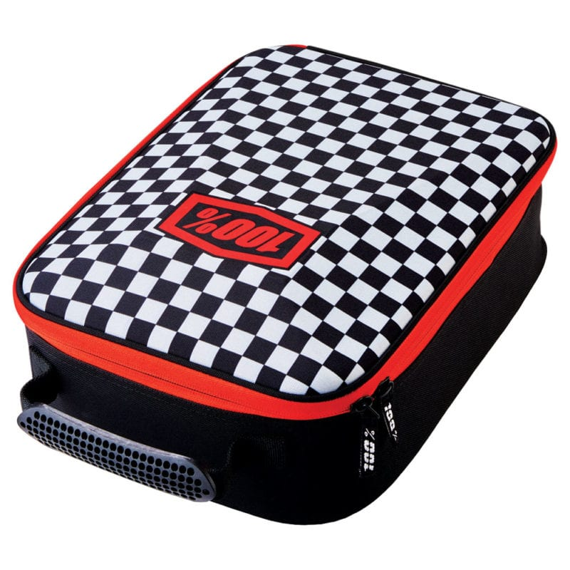 Dirt bike goggle cases are great for travelling with a few pairs of goggles.