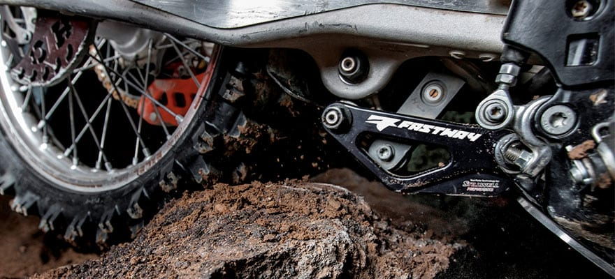 The fastway adjustable linkage guard is super strong.