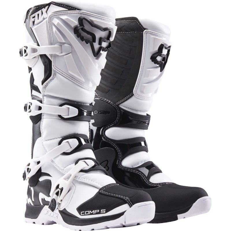 fox comp 5 moto boots are great value!