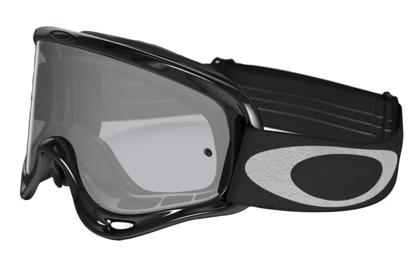Oakley OFrame dirt bike goggles are made of denser foam to filter out fine dust.