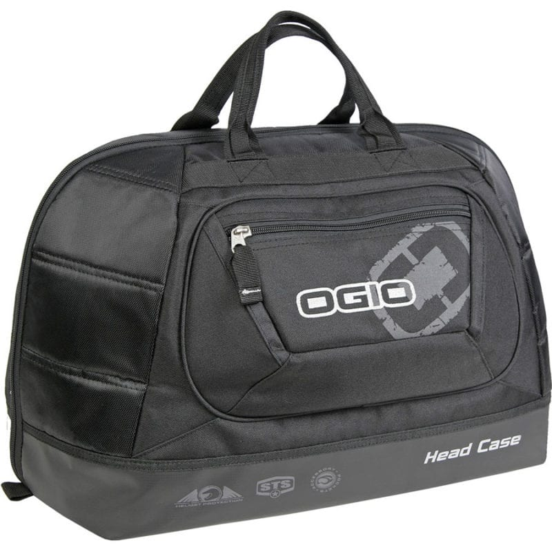 The OGIO headcase helmet bag is a larger size to fit all sizes of dirt bike helmet.
