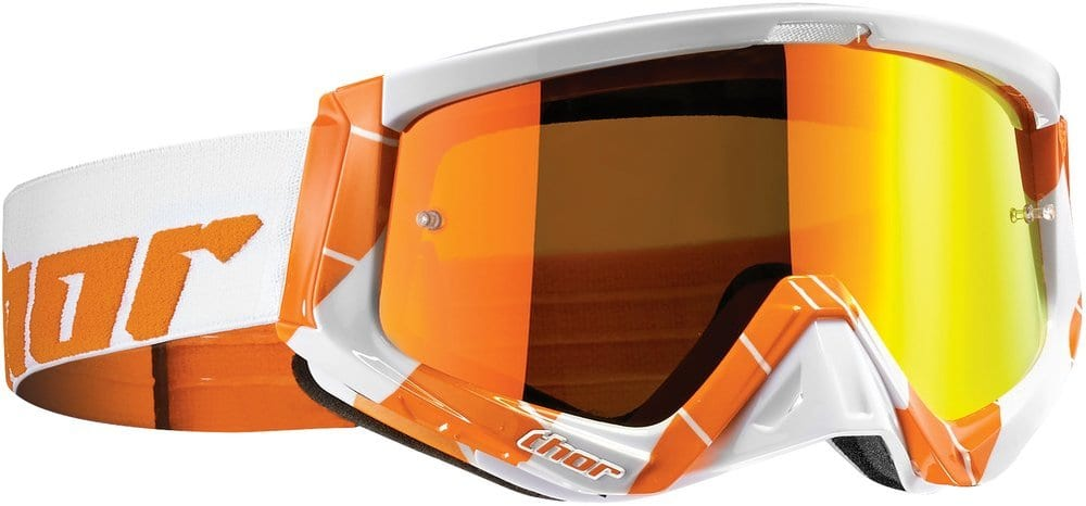 Orange tinted lenses give greater visibility in sand and shaded areas.