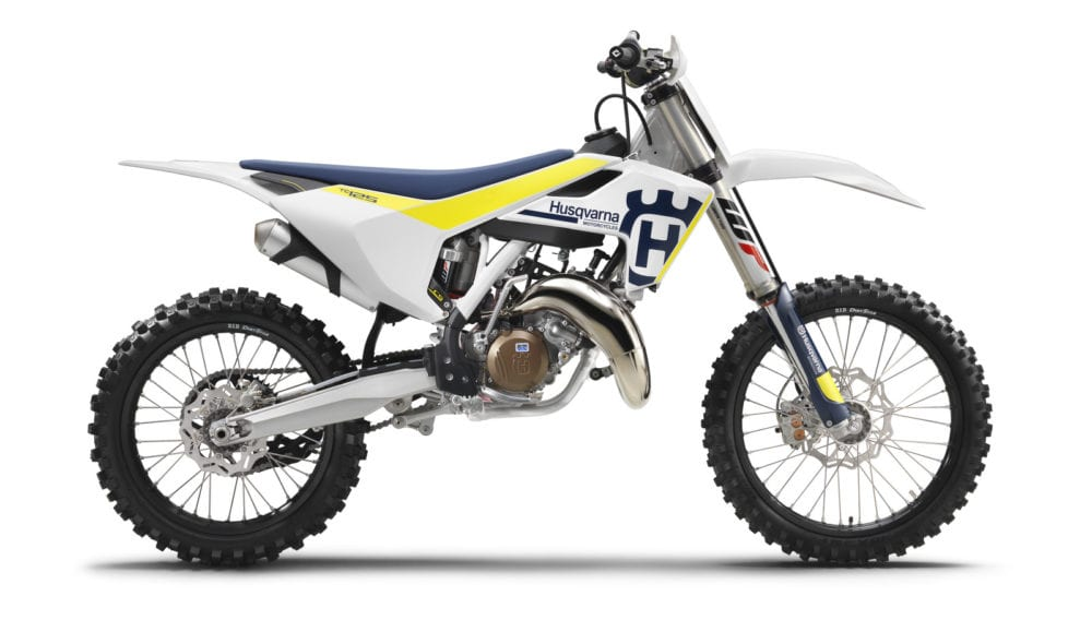2017 husqvarna TC125 is one of the most popular types of dirt bikes.
