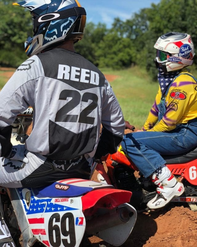 Ronnie Mac has a unique brand. A key to finding motocross sponsorship