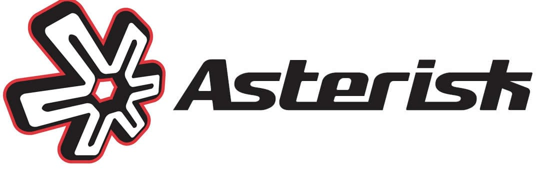 Asterisk motocross knee braces.