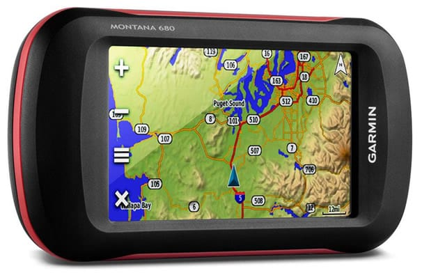 garmin montana 680 for dirt bike trails