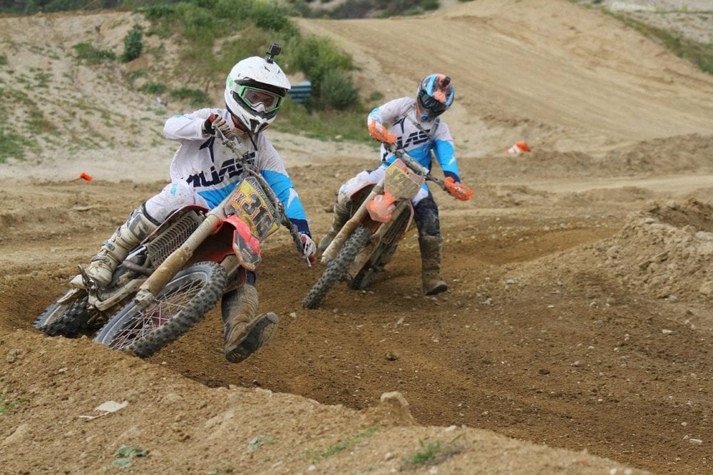 dirt bike pro tips. Ride with a better rider.
