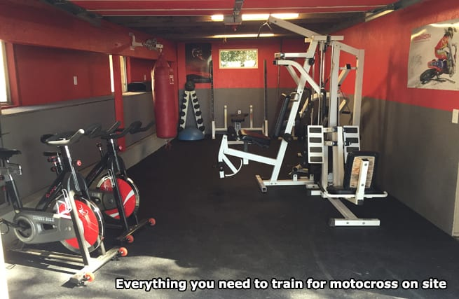 race socal mx training gym facilities