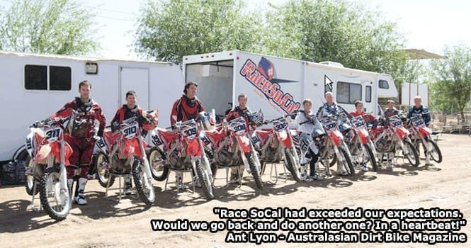 race socal mx training testimonials