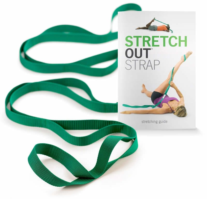 dirt bike fitness. stretch out straps