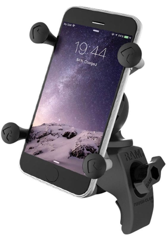 dirt bike gps apps. Ram Tough-Claw with X-Grip Phone Holder