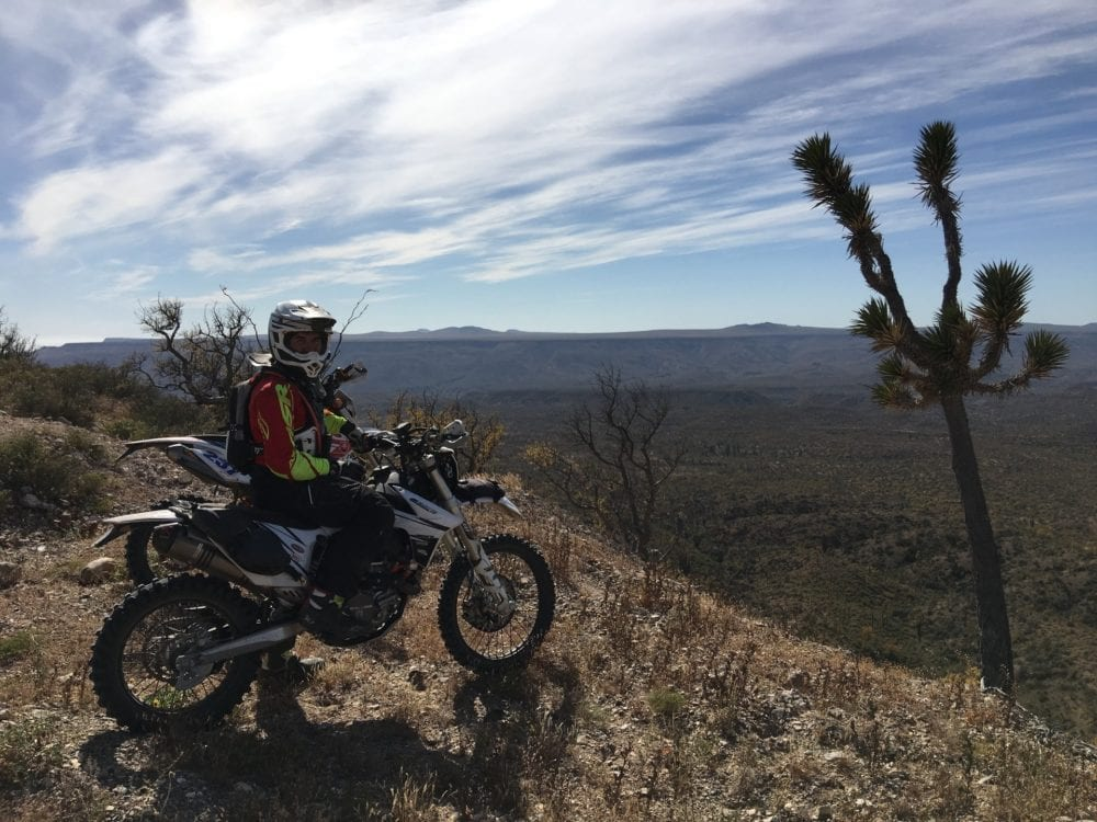 baja dirt bike tour