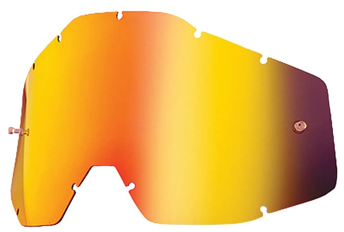 motocross goggle lens color guide - red mirror