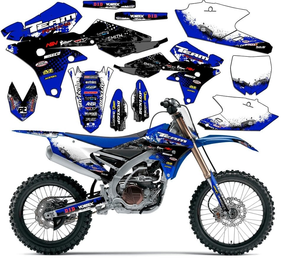ttr110 sticker kits