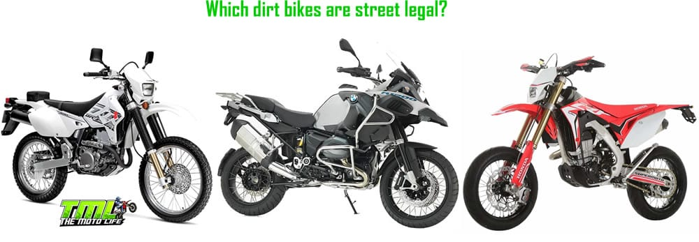 what is a street legal dirt bike called