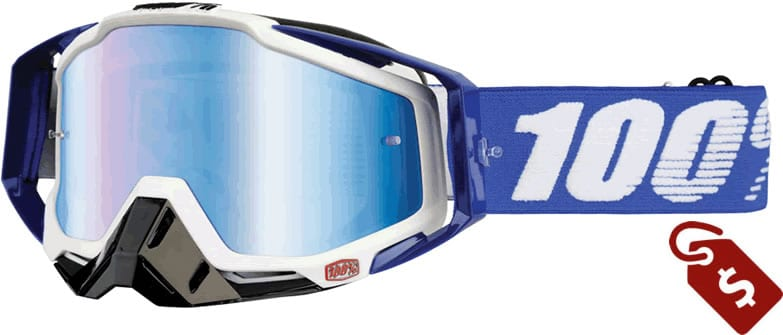 100% mx goggle review. 100% racecraft plus goggles.