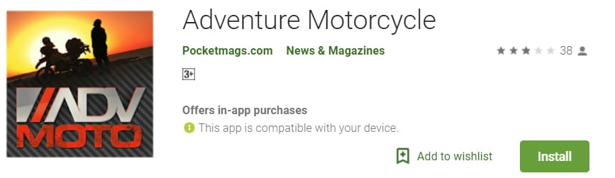 best dirt bike apps - adv moto