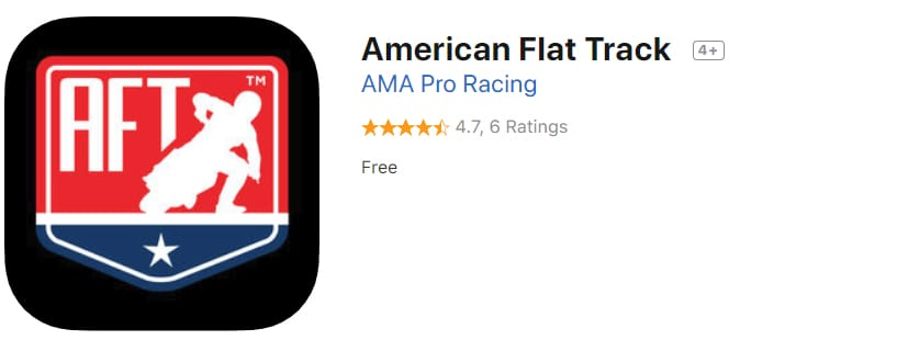 dirt bike apps - american flat track