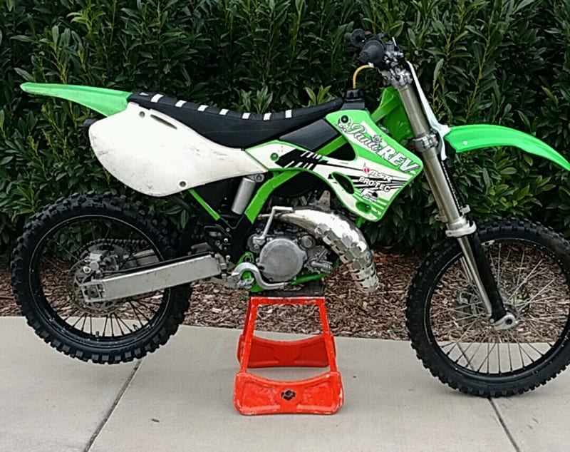 buying a second hand dirt bike