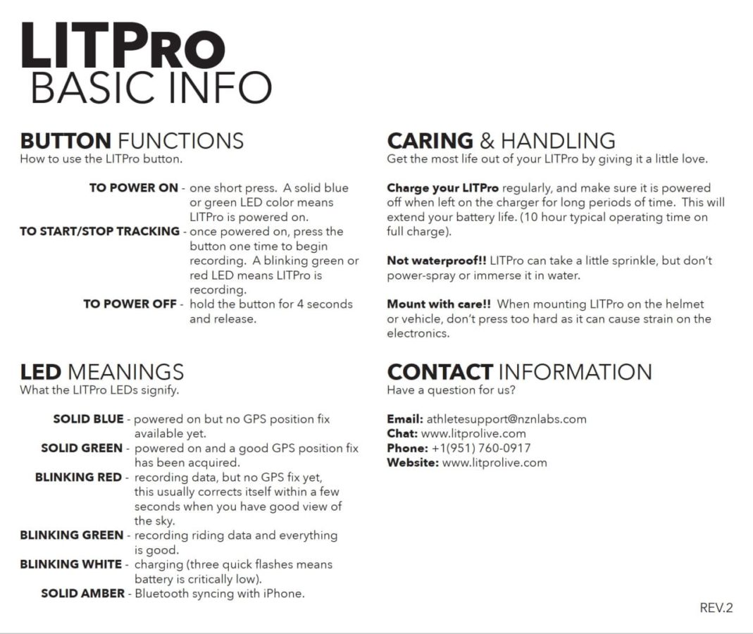 litpro instructions motocross