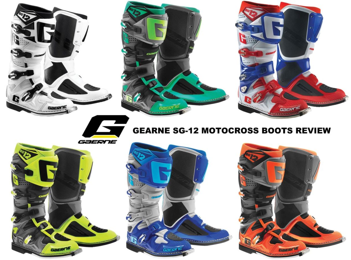 gearne motocross boots review