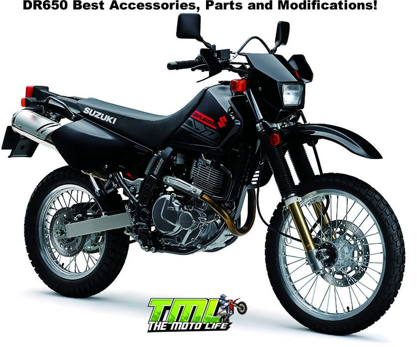 suzuki DR650 parts, accessories and modifications