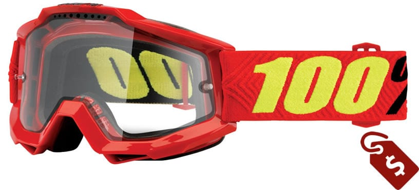100% mx goggle review. 100% Accuri Enduro Goggle