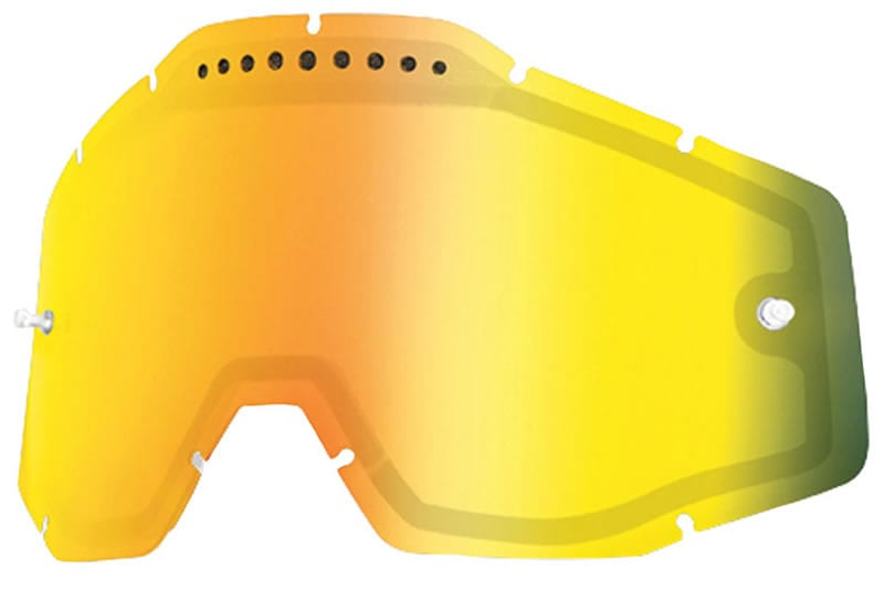 100% mx goggles review. 100% Accuri Racecraft Strata Replacement Lens