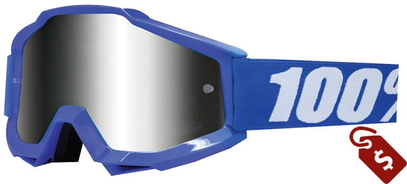 100% MX goggle review. 100% Accuri Sand Goggle