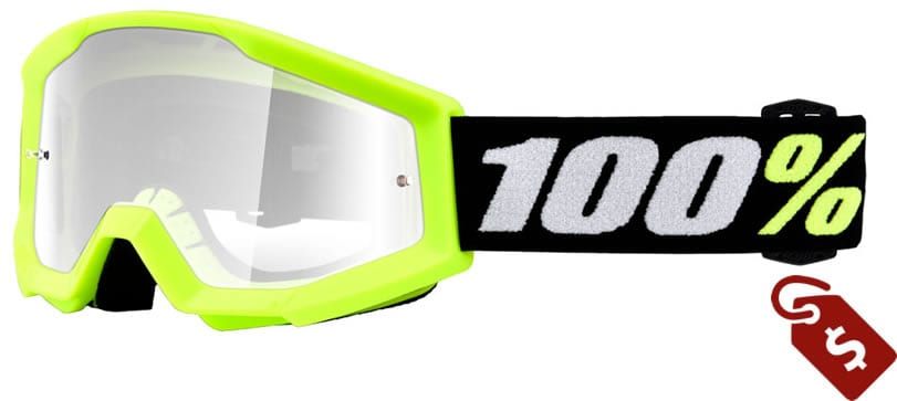 100% mx goggles review. 100% Strata Mini PeeWee Goggle