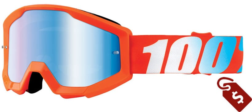 100% mx goggles review. 100% Youth Strata Goggle
