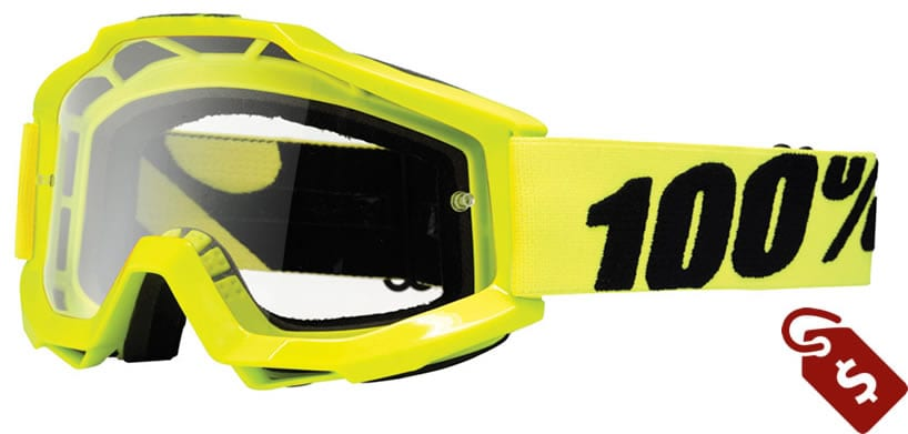 100% mx goggles review. 100% accuri goggle