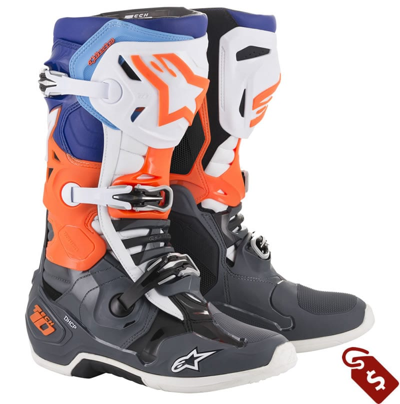 wide motocross boots. Alpinestars Tech 10 Boots