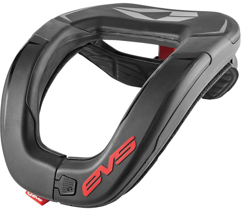 Motocross neck brace review. EVS R4 Neck Support