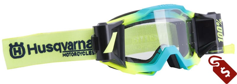 100% mx goggles review. Husqvarna 100% Accuri Forecast Mud Goggle