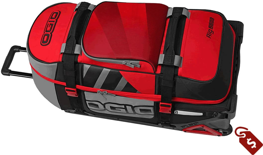 motocross gear bags review. Ogio Wheeled Rig 9800 Gear Bag
