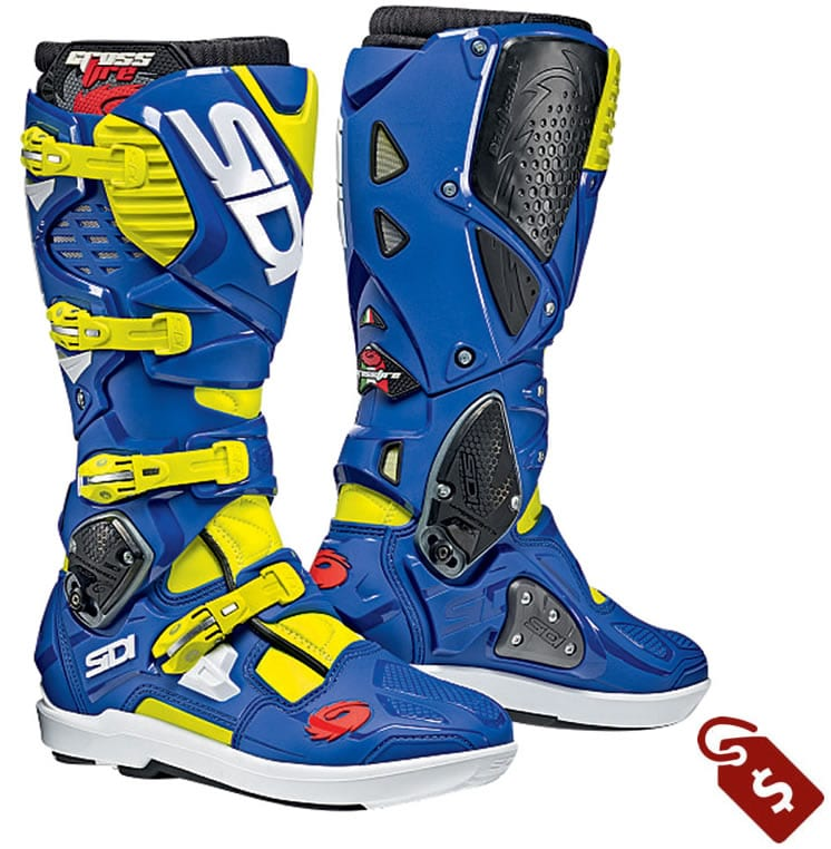 wide calf motocross boots. Sidi crossfire 3 SRS