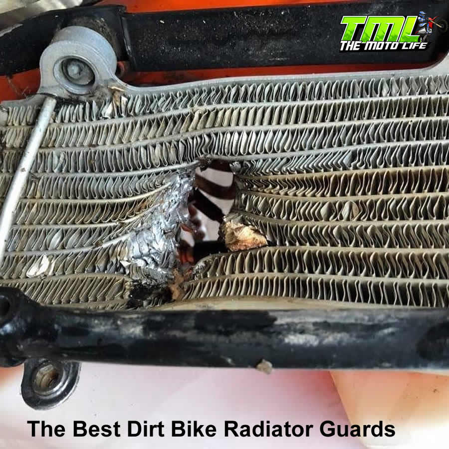 best dirt bike radiator guards