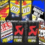 The Best Dirt Bike Radiator Louver Graphics on the Web!