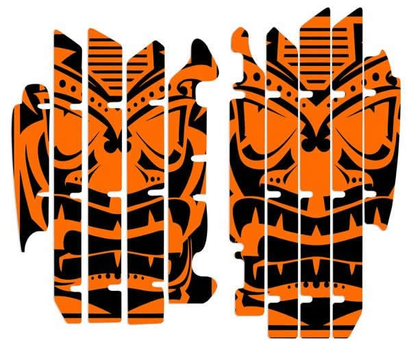 dirt bike radiator louver graphics. nihilo concepts ktm