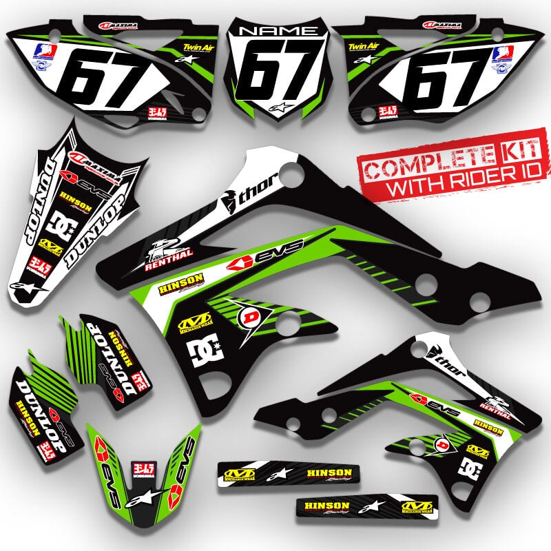 klx 110 graphics kit DC