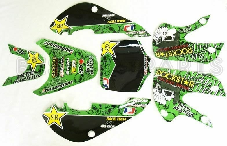 metal mulisha klx 110 sticker kit