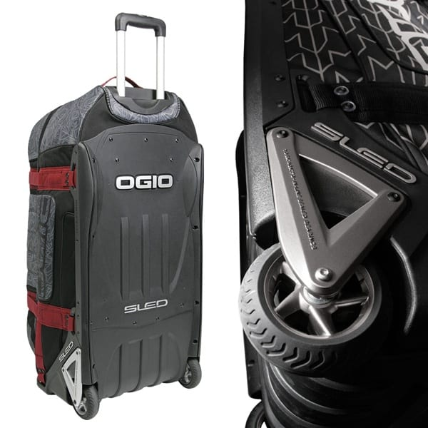 motocross gear bag review. Ogio 9800 wheeled rig.