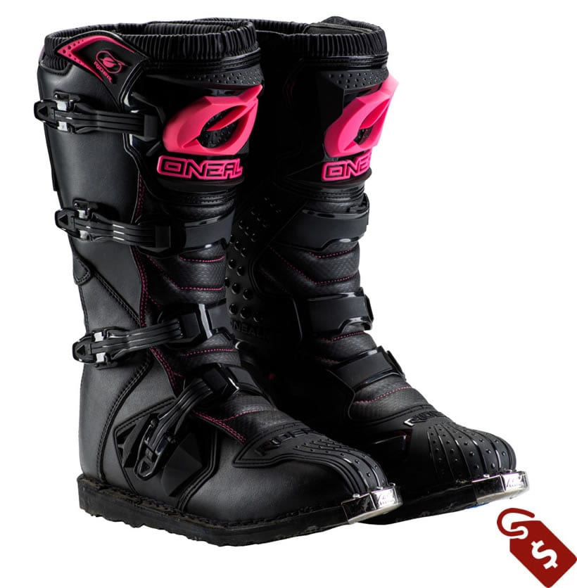 womens wide calf motocross boots. ONeal racing rider