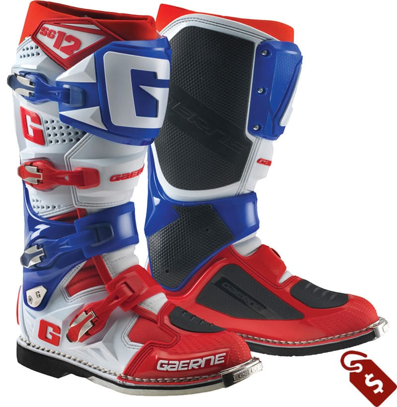 wide calf motocross boots. gaerne sg12