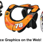 Best Neck Brace Graphics Kits on the Web for Adults and Kids [Atlas, Leatt, EVS and Alpinestars]