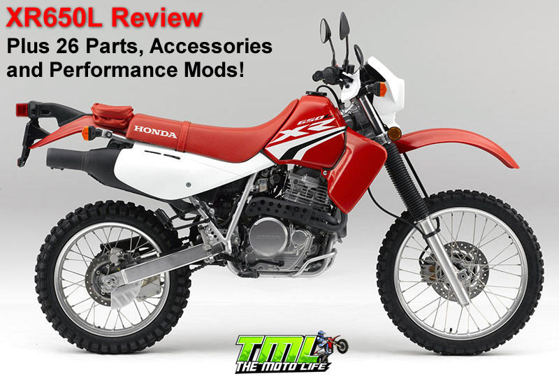 xr650L review, parts, accessories, modifications