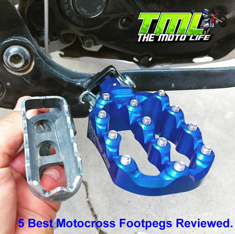 best motocross footpegs